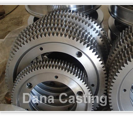 Aluminum Toothed Wheel Castings